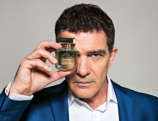 Antonio Banderas With Queen Of Seduction